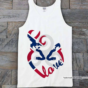 Love Browning  RebeL Flag tanktop expotank