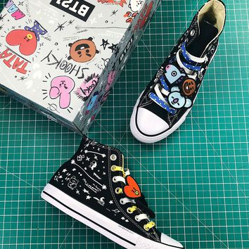 Bt21 X Converse Chuck Taylor All Star Mid Sneakers - Best Online Sale