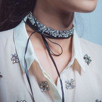 Love Me Endlessly Choker Necklace