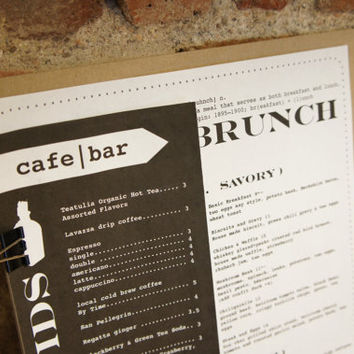 Promotion. Custom Double Sided Menu Design - Unlimited Revisions - One of a Kind - Food Menu, Restaurant Menu, Drink Menu
