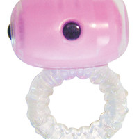 Eve Body Responsive Couples Ring - Pink - Clear