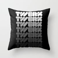 Twerk Forever Throw Pillow by Hungry Mike | Society6