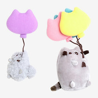 Pusheen And Story Suction Cup Balloon Plush Set
