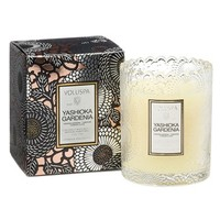 Voluspa 'Japonica - Yashioka Gardenia' Scalloped Edge Glass Candle