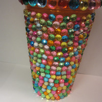 Rhinestone Tumbler Cup, Multi-Color