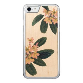 Jasmine Carved iPhone 7 Case