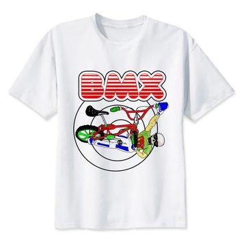 BMX Skeleton T-Shirt - Men's Biker Tee