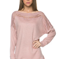 Sweetheart Sweater - Pink