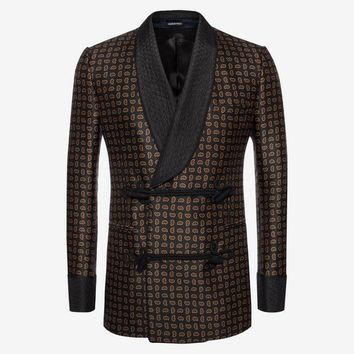 Mini Paisley Smoking Jacket | Alexander McQueen