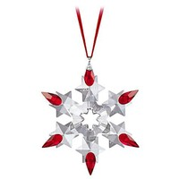 Swarovski 2010 Limited Edition Crystal Snowflake Ornament