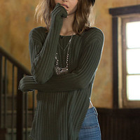 Erin Wasson Low Scoop Back Ribbed Sweater at PacSun.com
