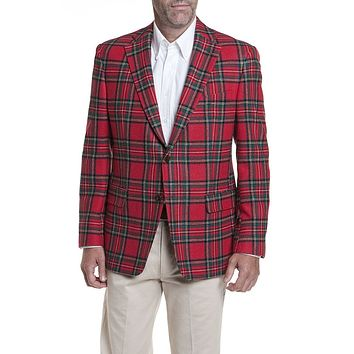 Holiday Tartan Blazer in Royal Stewart by Castaway Clothing