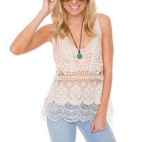 Morgan Lace Tank