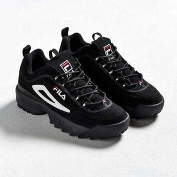 ONETOW FILA Disruptor II Trainers | Urban Outfitters