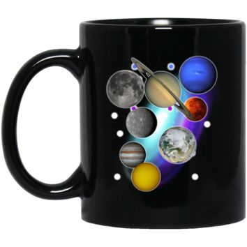 Solar System Coffee Mug by Living You Co. | Planets Mug, Solar System Coffee Cup, Solar System Cup