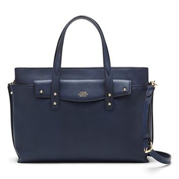 Vince Camuto 'Ilya' Pebbled Leather Satchel