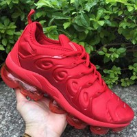 NIKE Air Max Vapormax  Plus Tn Ultra Colorful 3M Sneakers Women Men Sports Shoes B-CSXY  Red