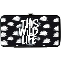 This Wild Life Women's Clouds Girls Wallet