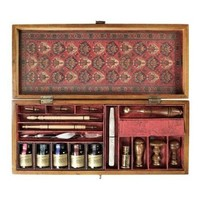 Trianon Letters - Writing Set Includes Inks Pens and Sealing Tools - Authentic Models MG059