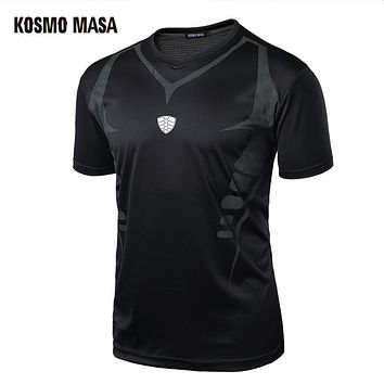 Men's Compression Clothing Quick Dry Breathable T-Shirt Fitness Hip Hop T-Shirts Men Jersey T Shirts