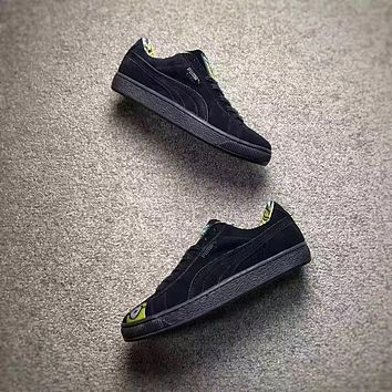 PUMA X MINIONS SUEDE Men Shoes Women Casual shoes Black