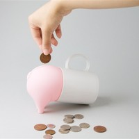 Greedy Pig Money Box Piggy Bank
