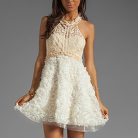 Free People Babydoll Bouquet Party Dress in Ivory from REVOLVEclothing.com