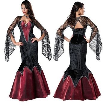 ESBONG Beautiful prom dress stage costume masquerade party dress [8978880519]