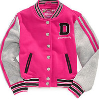 Dollhouse Kids Jacket, Girls or Little Girls Varsity Jacket - Kids Girls 7-16 - Macy's