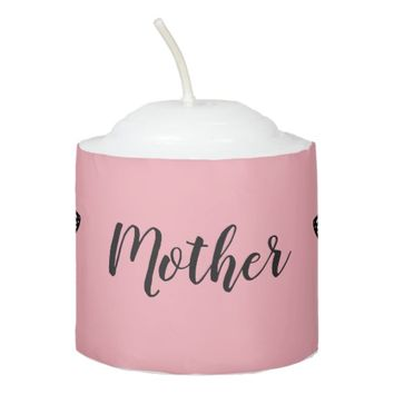 Custom Pink with Butterflies Votive Candle