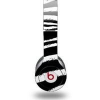 Zebra Decal Style Skin (fits Beats Solo HD Headphones - HEADPHONES NOT INCLUDED): Electronics