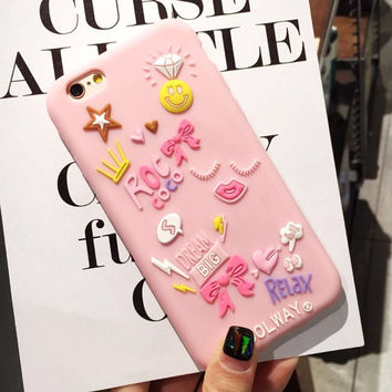 3D Cool Phone Case For iPhone 7 / 7 P / 6 / 6S / 6S P [11208627343]