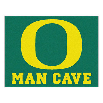 Oregon Ducks NCAA Man Cave All-Star Floor Mat (34in x 45in)