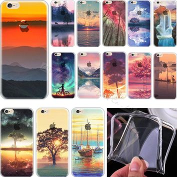 5C Elegant Soft TPU Cover For Apple iPhone 5C iPhone5C Case Cases Mobile Phone Shell Painted Leisurely Sika Deer 2017 Newest Hot