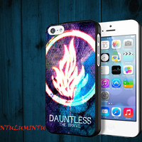 Divergent Dauntless The Brave Galaxy Nebula iPhone 5/5S/5C/4/4S, Samsung Galaxy S3/S4, iPod Touch 4/5, htc One X/x+/S