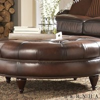 Living Rooms, Earnest Cocktail Ottoman, Living Rooms | Havertys Furniture