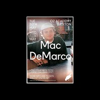 Mac Demarco - O2 Academy Brixton London 2017 - Sold Out Date Mini Poster - 25.4x20.3cm