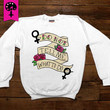 Do Not Tell Me What To Do -- Unisex Sweatshirt/Long-Sleeve