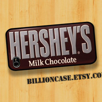 HERSHEY'S Milk Chocolate Candy Bar  iPhone 4 Case by BillionCase