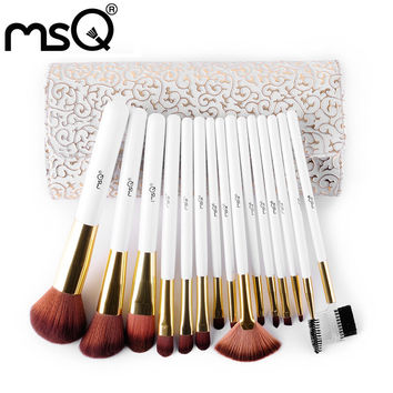 High Quality Professional 15pcs Makeup Brushes Set