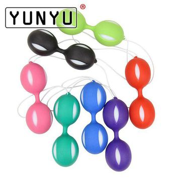 ac NOOW2 Female Smart Duotone Ben Wa Ball Weighted Female Kegel Vaginal Tight Exercise Machine Vibrators for Women