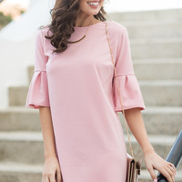 Beauty Personified Dress, Blush