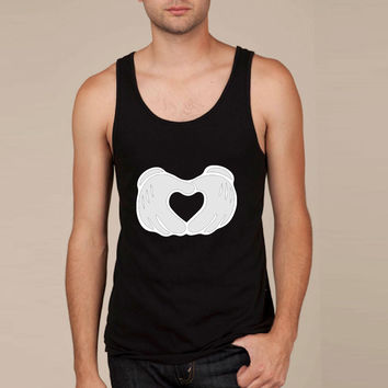 Mickey Mouse Hand Heart Tank Top