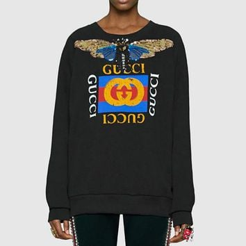 One-nice™ Gucci Fashion Long Sleeve Pullover Sweatshirt Top Sweater