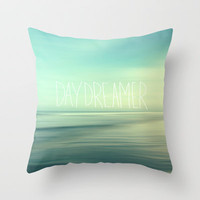 Daydreamer Throw Pillow by Sylvia Cook Photography
