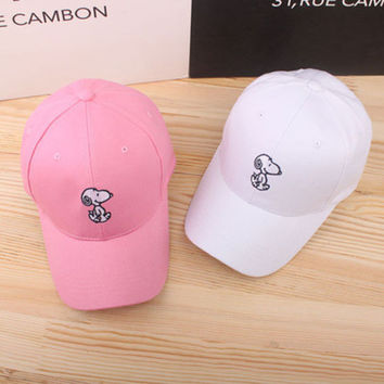 Snoopy Sport Casual Simple Hip-hop Baseball cotton cap