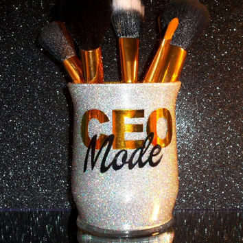 CEO Mode Makeup Brush Holder - YOU CUSTOMIZE!
