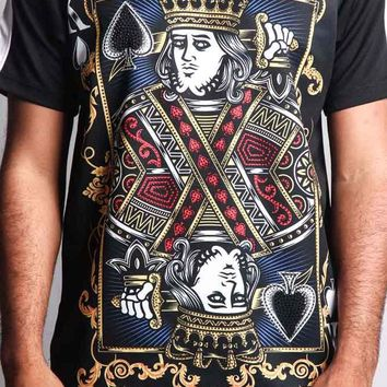 King of Spade Sublimation T-Shirt TS7175 - P5E