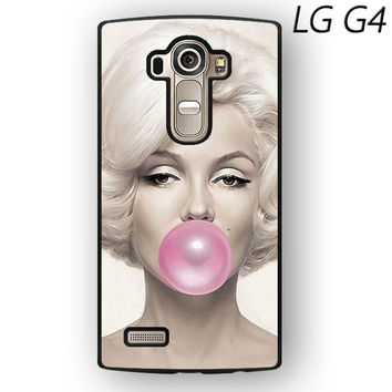 Marilyn Monroe Bubble Gum for LG G3/LG G4 phonecase
