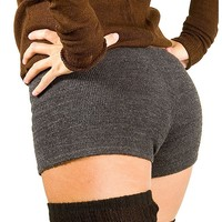 Yoga Shorts / Low Rise Stretch Knit